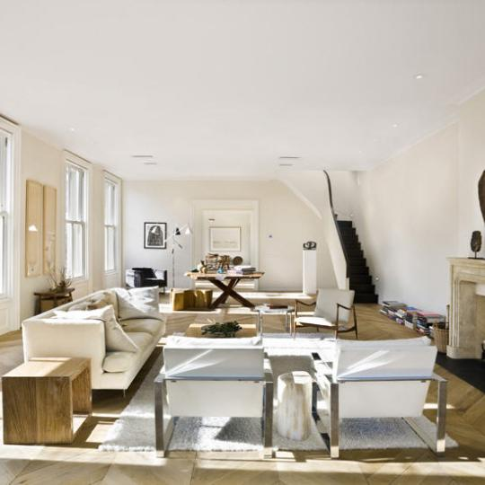 54 Bond Street Living Room - NYC Condos for Sale - Greenwich Village