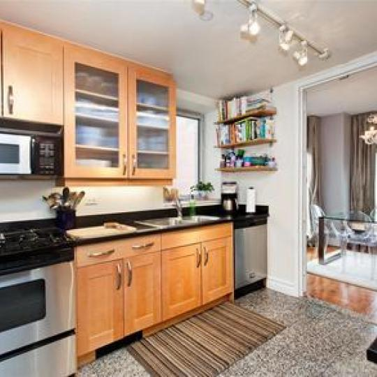 Bridge Tower Place - kitchen - Condos for Sale NYC