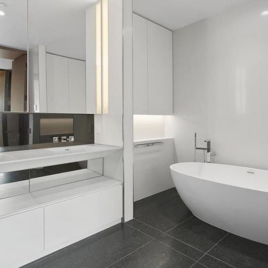 Bathroom at 551 West 21st Street in NYC - Apartments for sale