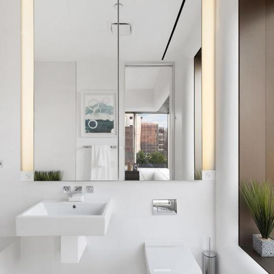 Condos for sale at 551 West 21st Street in Manhattan - Bathroom