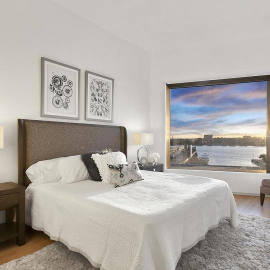 Bedroom at 551 West 21st Street in NYC - Apartments for sale