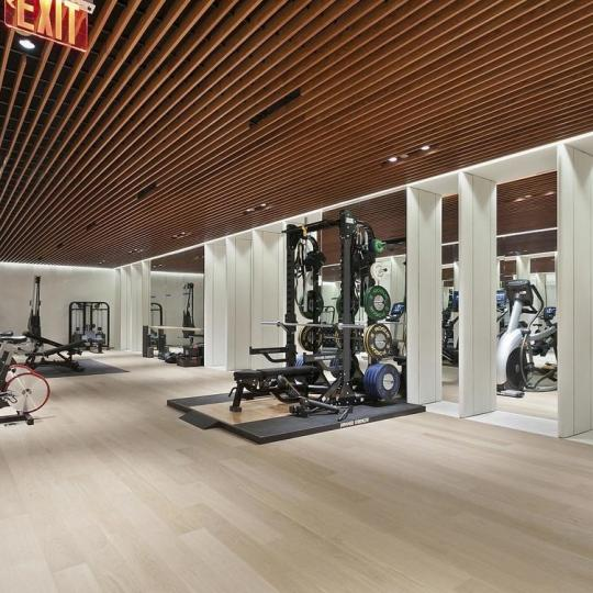 Fitness Center at 551 West 21st Street in West Chelsea