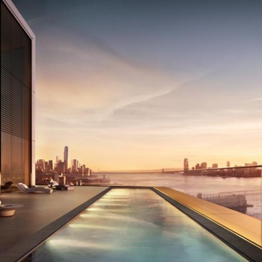 Apartments for sale at 551 West 21st Street in NYC - Swimming Pool