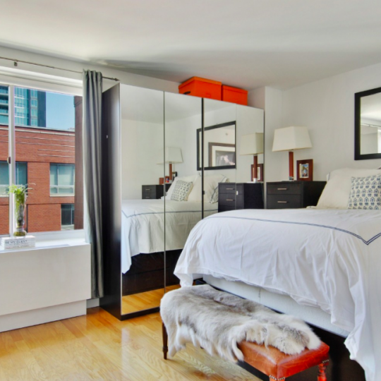 The Bedroom at 555 West 23rd Street