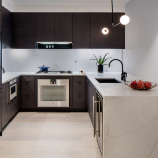 Open Kitchen at 55 West 17th Street in Manhattan
