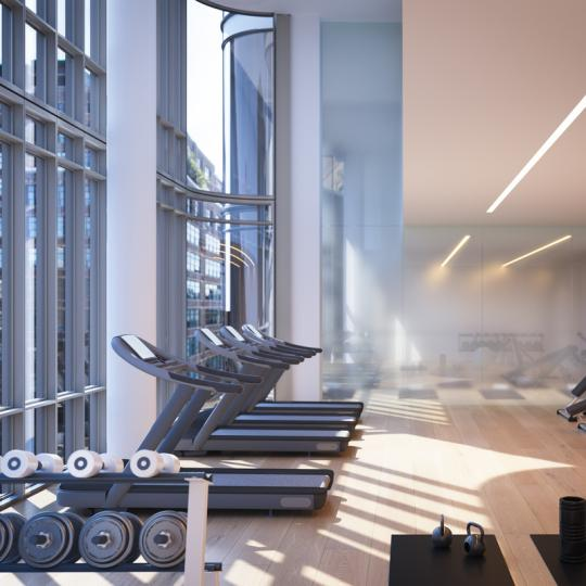 Apartments for sale at 565 Broome Street in NYC - Fitness Center