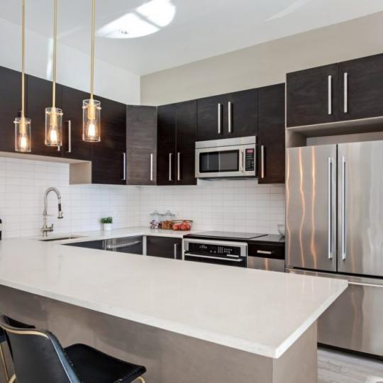 Open Kitchen at 5-12 Lofts in Long Island City - Apartments for sale