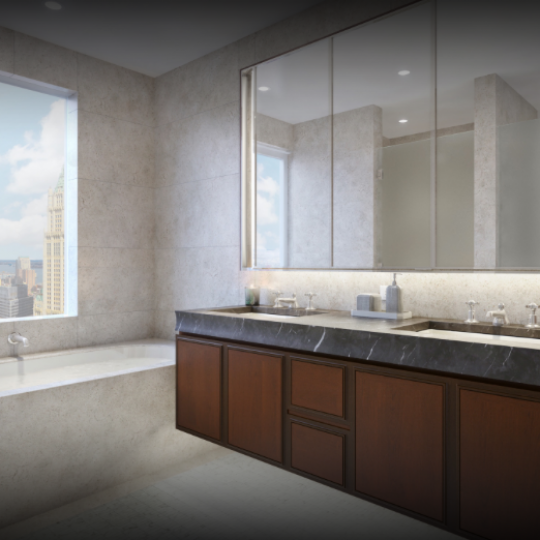 Bathroom at 5 Beekman Street - Aparments for sale