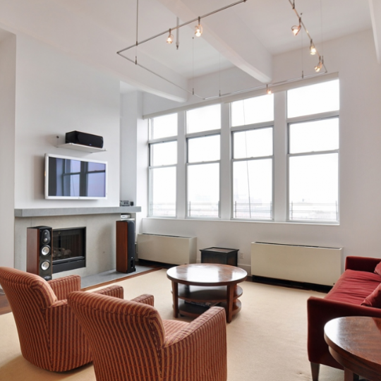 The Living Room at 60 Broadway