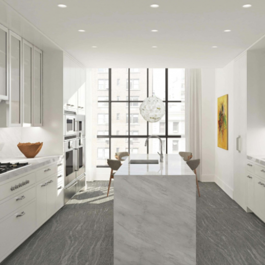 Kitchen in the apartment at 60 East 86th Street