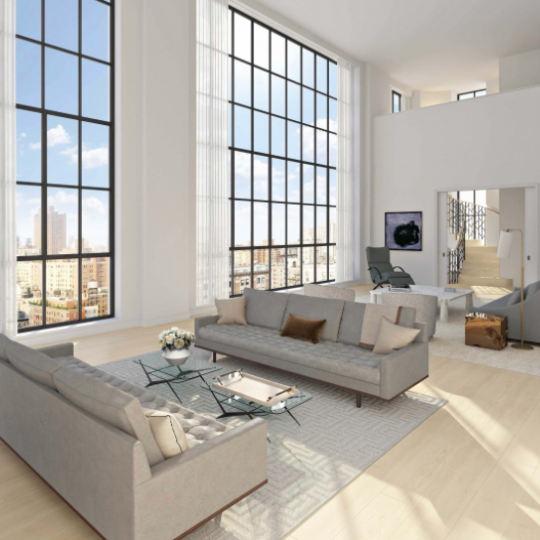 Penthouse at 60 East 86th Street