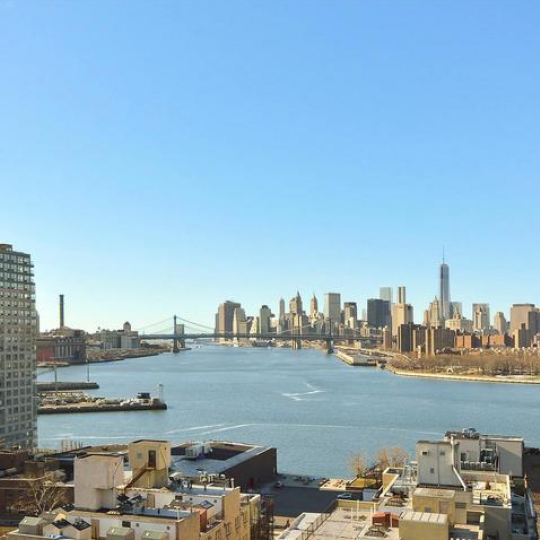 Stunning Views from Rooftop deck in NYC