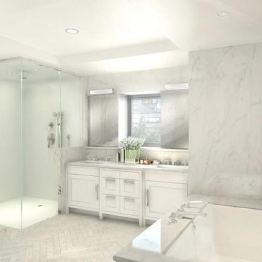 61 Fifth Avenue- Bathroom- condos for sale NYC