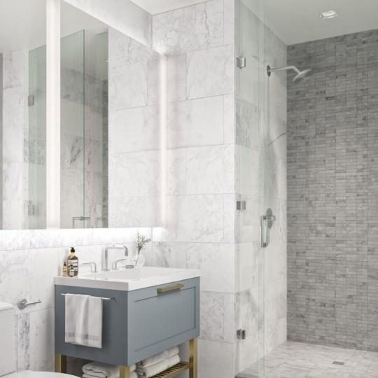 Apartments for sale at 62 Avenue B in Manhattan - Bathroom