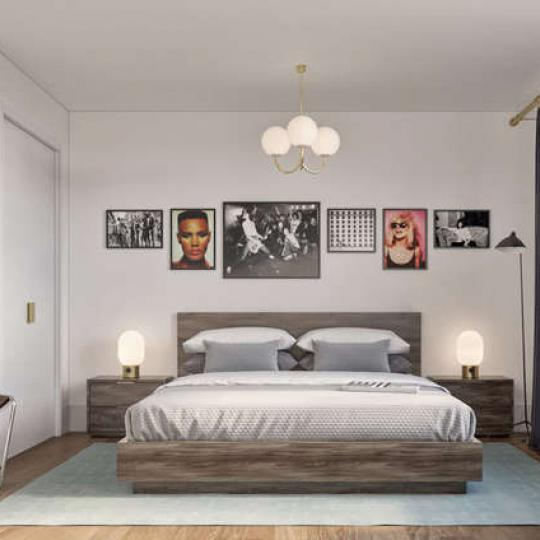 Apartments for sale at 62 Avenue B in NYC - Bedroom