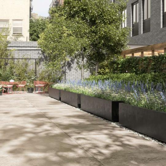 Garden at 62 Avenue B in NYC - Apartments for sale