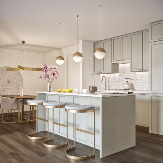 Kitchen at 62 Avenue B in East Village - Condos for sale