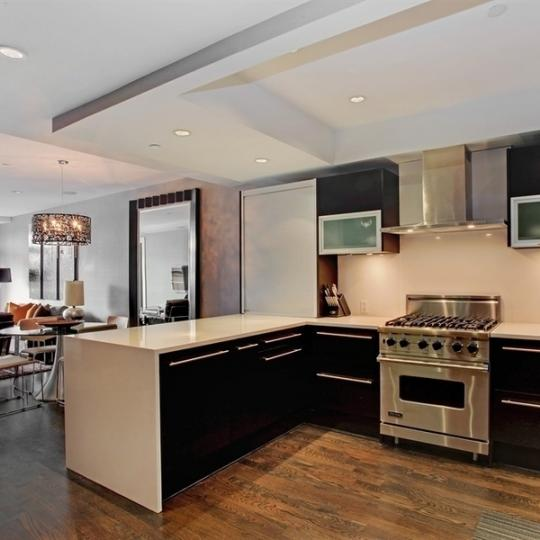 62 East 1st Street Condo Kitchen