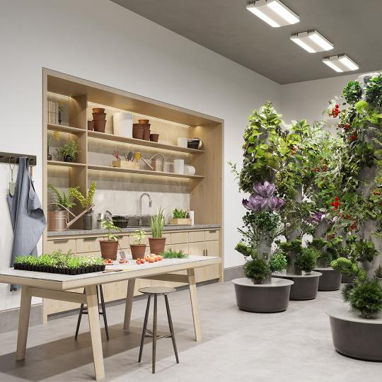 Gardening Room at 635 West 59th Street in Manhattan - Apartments for sale