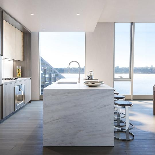 Condos for sale at 635 West 59th Street in NYC - Kitchen