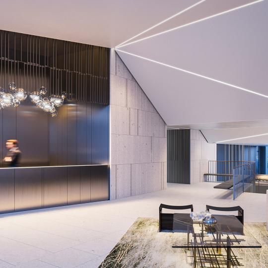 Apartments for sale at Three Waterline Square in Manhattan - Lobby