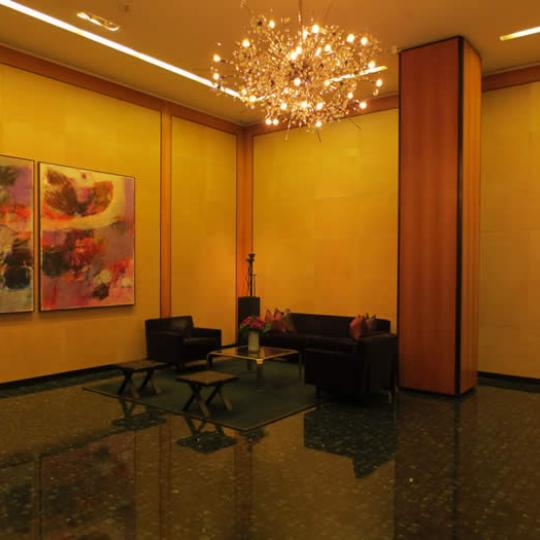 Olympic Tower NYC lobby - 641 Fifth Avenue Apartments for Sale in Midtown East