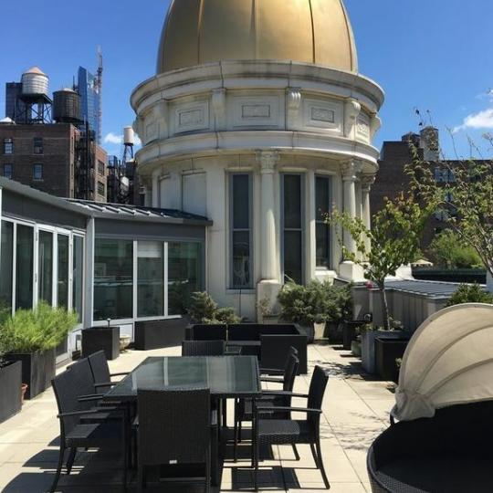 Apartments for sale at The O'Neill Building in Manhattan - Rooftop Deck