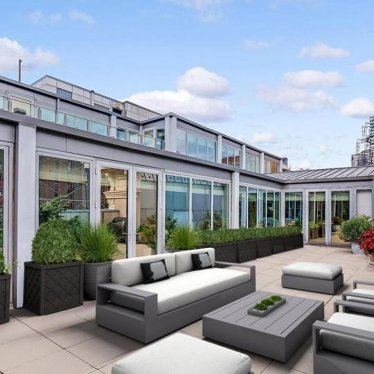 Rooftop Deck at The O'Neill Building in Chelsea