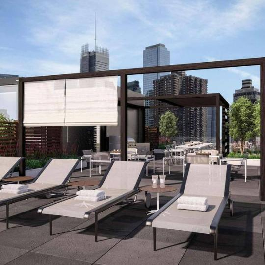 540 West 49th Street - Rooftop Lounge