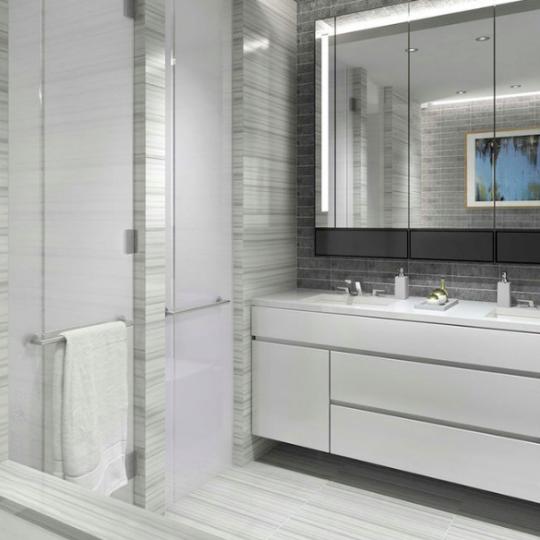 Bathroom in New York at 70 Charlton