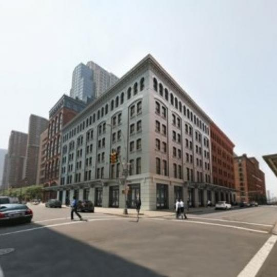 Side view of 71 Laight Street in Tribeca - NYC Apts for sale