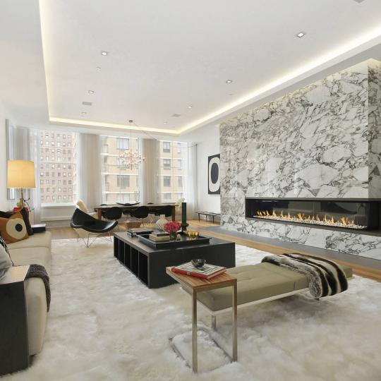 738 Broadway- Living Room- condo for sale in NYC