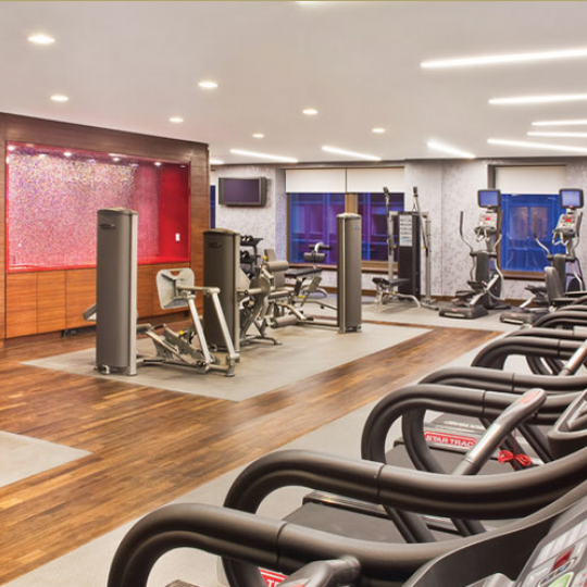 75 Wall Street gym - New Construction Manhattan