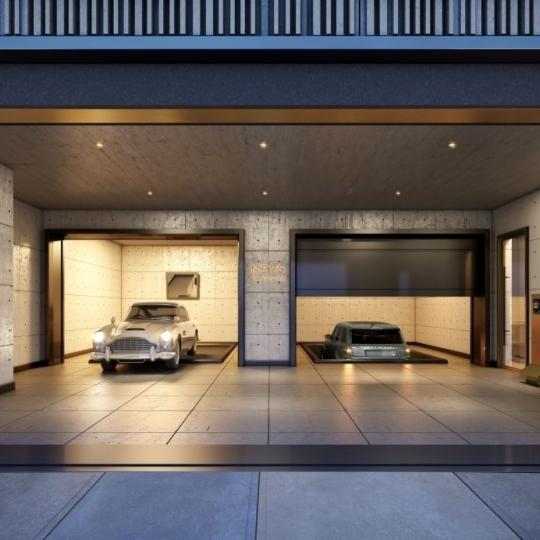 Apartments for sale at 75 Kenmare Street in NYC - Garage