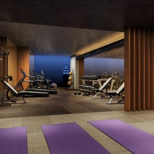 Fitness Center at 75 Kenmare Street in Nolita - Condos for sale