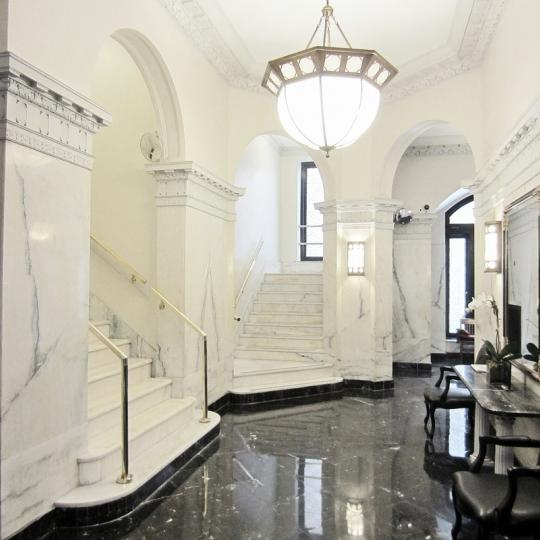 The Building's Lobby at 780 West End Avenue in Manhattan