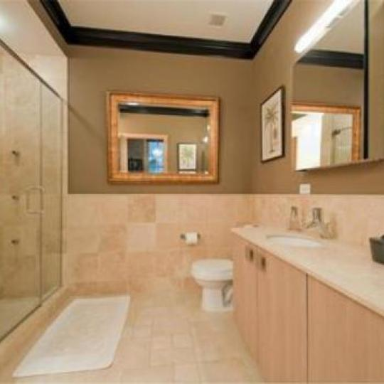 Bathroom in Tribeca Condo at 8 Warren Street