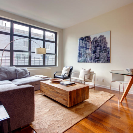The Living Room at 80 Metropolitan Ave - condos for sale in NYC