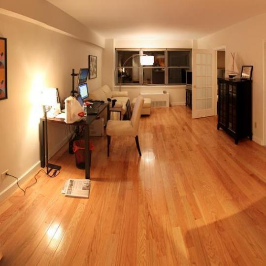 80 Park living room NYC Rentals