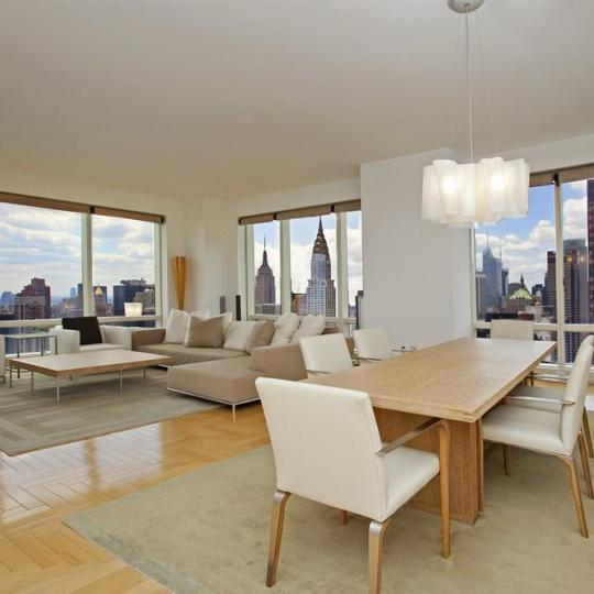 The Trump World Tower Dining Area - Condominiums for Sale NYC