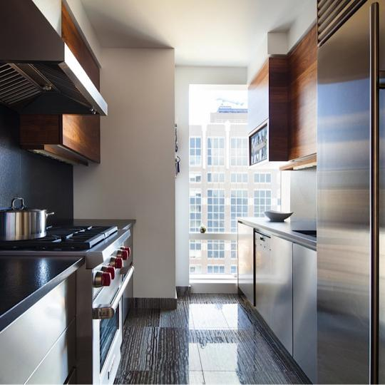 845 United Nations Plaza NYC Condos - Kitchen