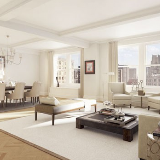 845 West End - Upper West Side - NY Luxury Rentals - Living Room