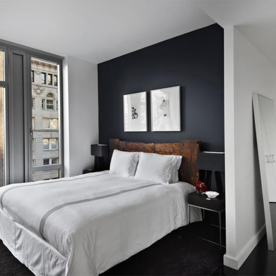Bedroom - Smith Upstairs - Luxury Condos - Tribeca