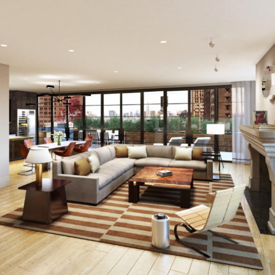 Condos for sale in NYC - Living Room
