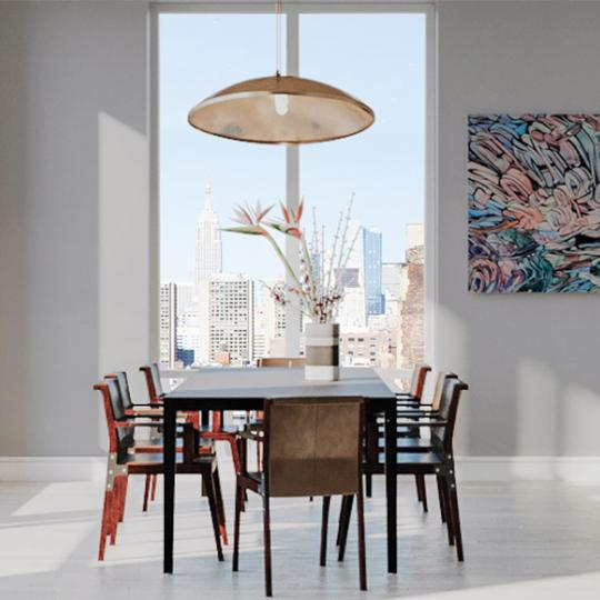 Apartments for sale at 91 Leonard Street in Tribeca - Dining Area