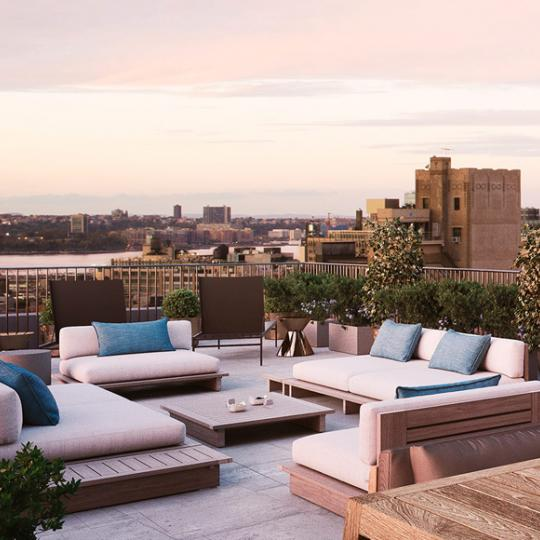 Apartments for sale at 91 Leonard Street in Tribeca - Rooftop Terrace