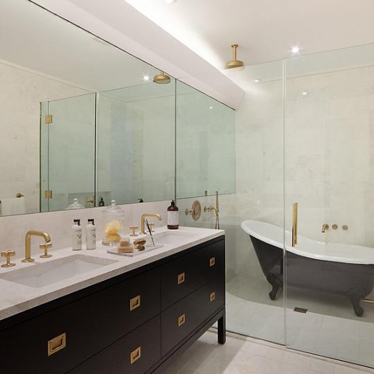 93 Worth Bathroom - Tribeca Luxury Apartments