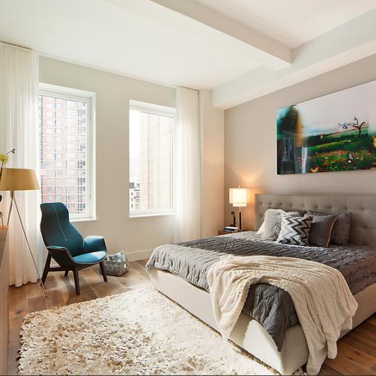 93 Worth Bedroom - Tribeca Luxury Apartment