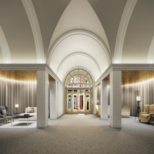 Lobby Area for 93 Worth Street Condominium