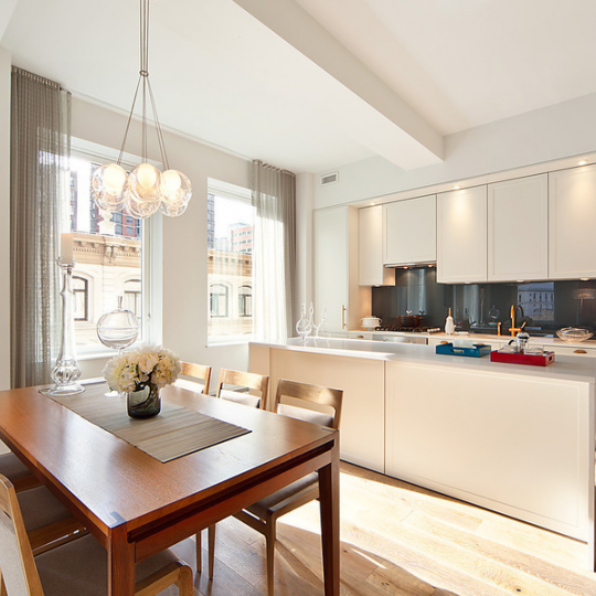 Kitchen for 93 Worth Street Condominium Penthouse